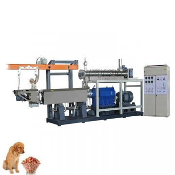 Double Screw Making Different Shapes Pet Food Processing Equipment/Machine with Ce