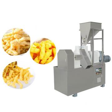 Single Screw Kurkure Snack Cheetos Nik Naks Making Extruder Processing Machine Line