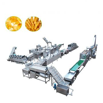 Good Frozen French Fries Frying Potato Fries Making Machine Price