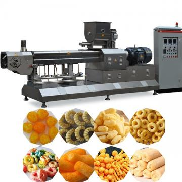 Dayi Large Capacity Triangle Shape Fried Corn Snack Chips Extruder