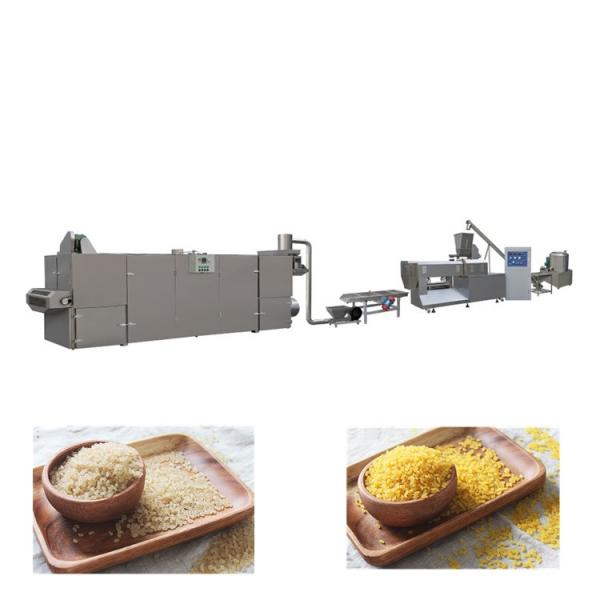 Most Popular Extrusion Artificial Rice Production Line, Automatic Rice Making Machine in China #1 image