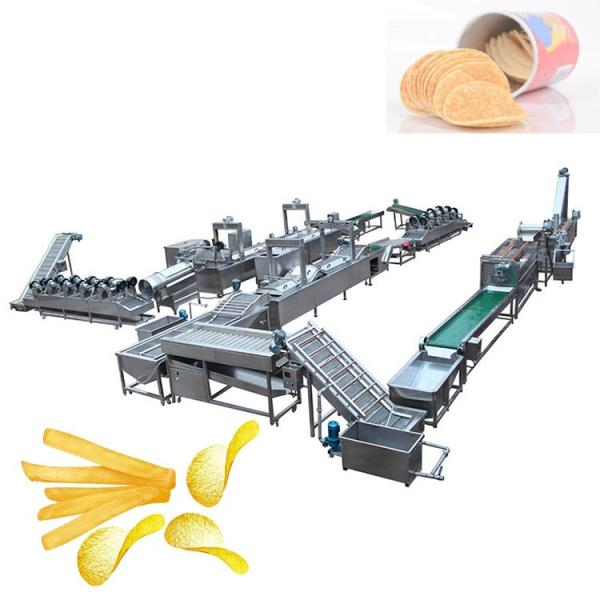 Industrial Automatic Stainless Steel Frozen French Fries Production Line/Potato Chips Production Line/Snack Potato Chips Making Machine with Ce Approved #3 image
