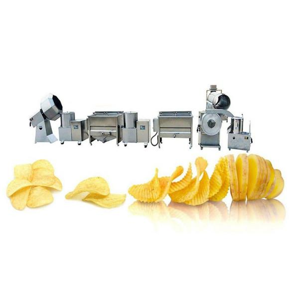 Hot Sale Industrial Peanut Banana Fryer Production Line Frozen French Fries Frying Potato Chips Making Machine #2 image
