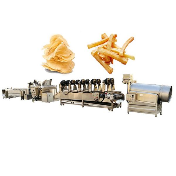 Industrial Automatic Stainless Steel Frozen French Fries Production Line/Potato Chips Production Line/Snack Potato Chips Making Machine with Ce Approved #2 image