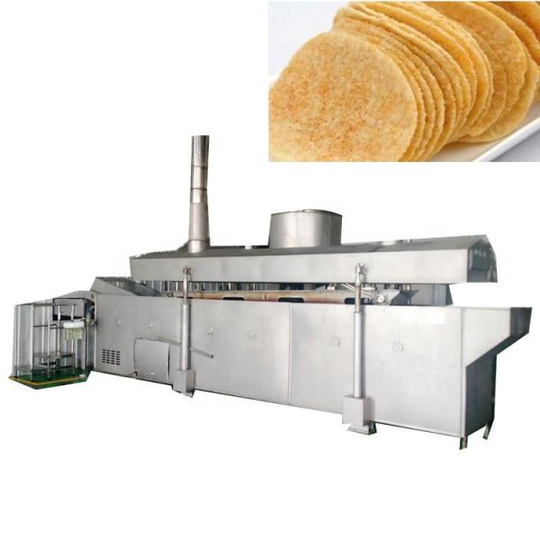 Hot Sale Industrial Peanut Banana Fryer Production Line Frozen French Fries Frying Potato Chips Making Machine #3 image